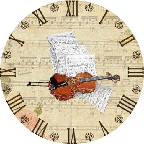 violino | orologi | Pinterest | Uhren, Stempel und Vorlagen