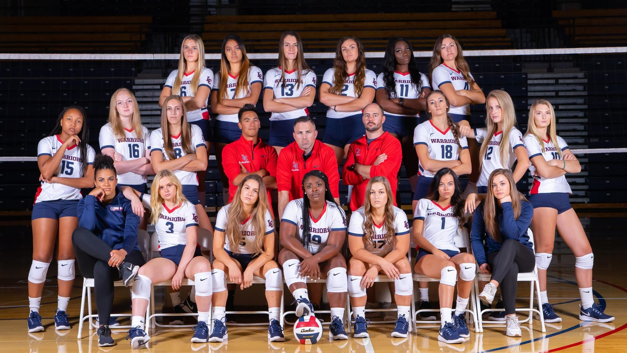 A Season Of Strides For Warrior Volleyball In 2020 College Athletics Women Volleyball Volleyball
