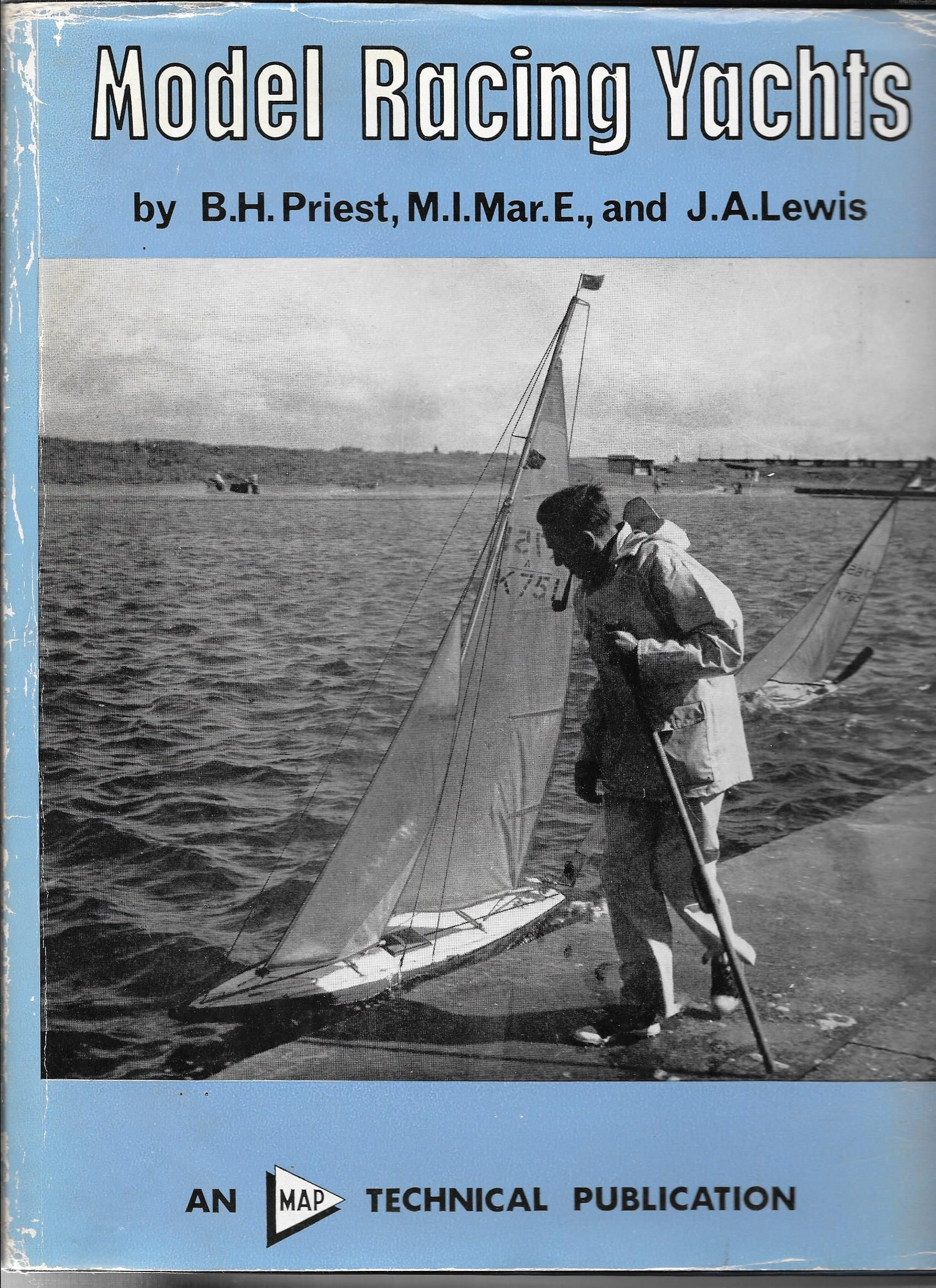 Model Racing Yachts by Priest and Lewis  Some interesting theory on