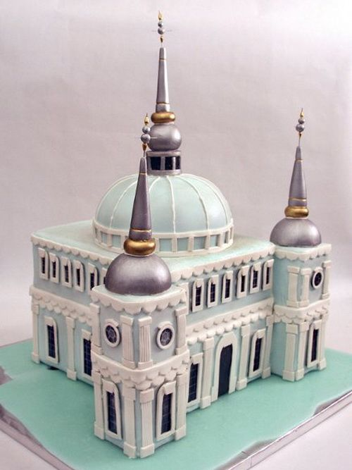 mosque wedding cake designs