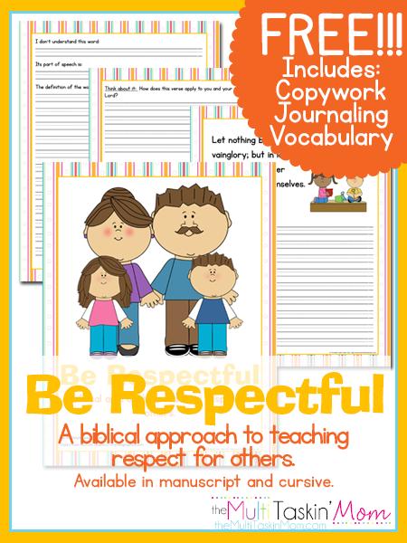 Be Respectful Inspired Wednesday Teaching Kids Respect Teaching Respect Respect Lessons