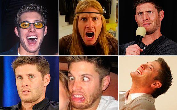 20 vezes que Jensen Ackles foi bem mais do que um rostinho bonito  Momento 20: quando ele é expressivo Sem contar que é um excelente ator, cantor e diretor. Que pessoa! QUE HOMEM!