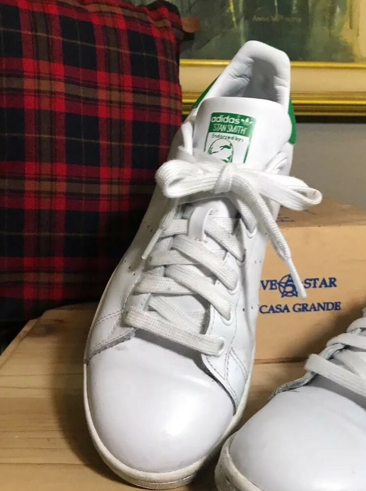 Adidas Stan Smith Original Shoes Men's Size 6.5 Core White