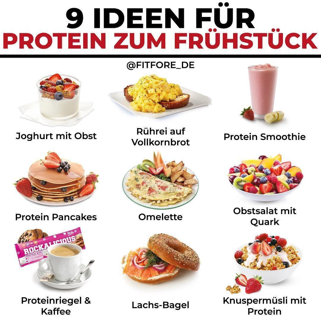 PROTEIN ZUM FRUHSTUCK-Werbung  Was kann ich zum Fruhstuck essen