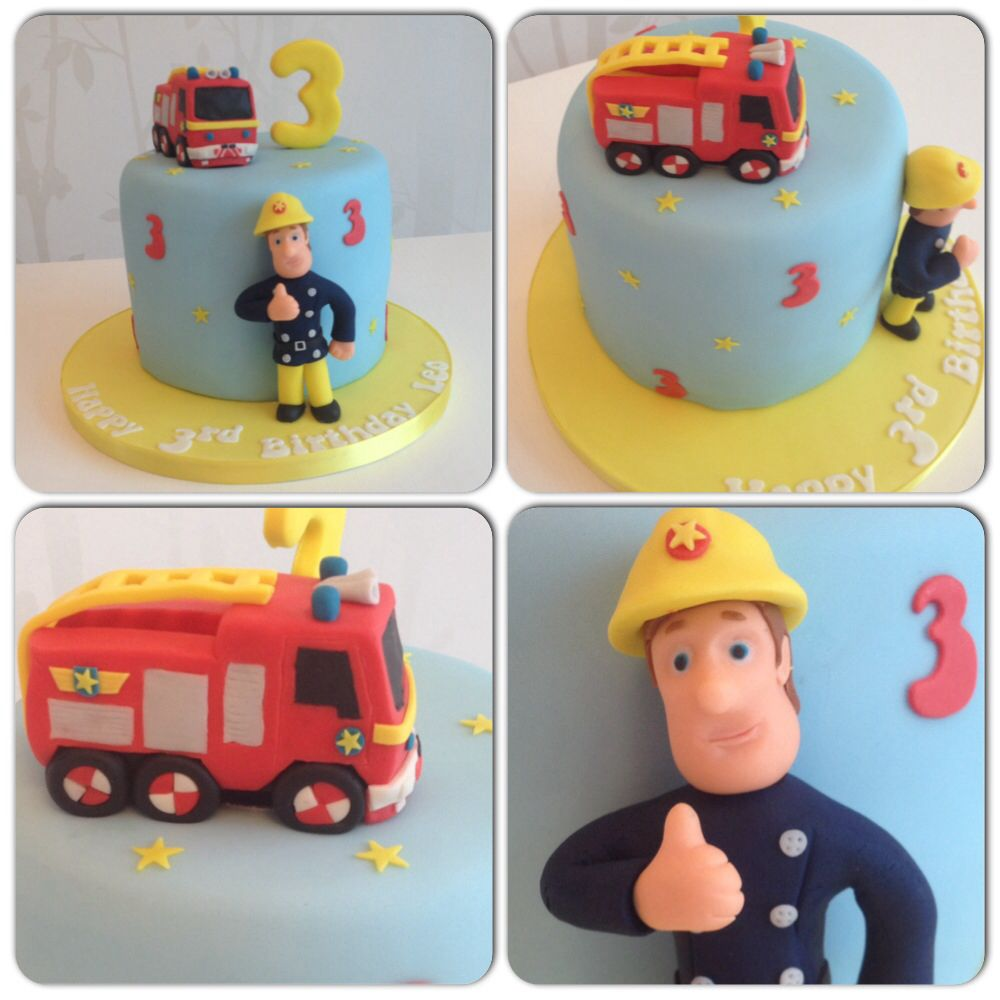 fireman sam cake festas tematicas. Black Bedroom Furniture Sets. Home Design Ideas