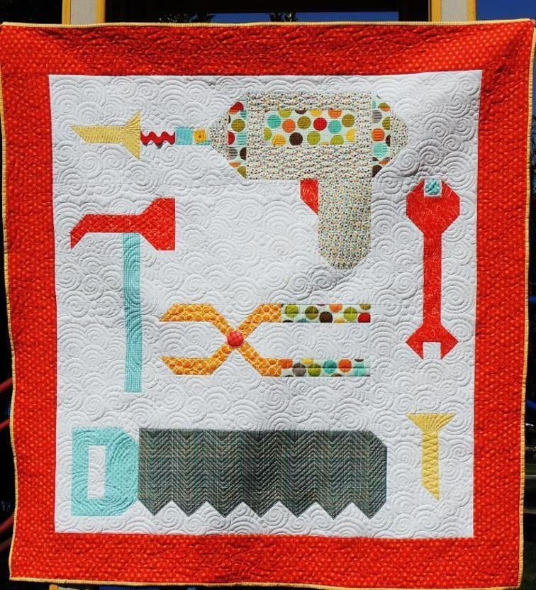 Tools Baby Tool Quilt By Kelli Fannin Craftsy Quilts Quilt Patterns Quilt Blocks