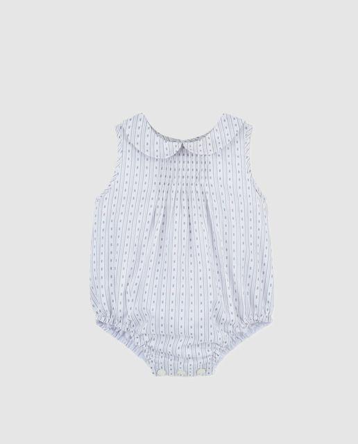 c1f256370 Ranita de bebé niño Gocco en gris con estampado