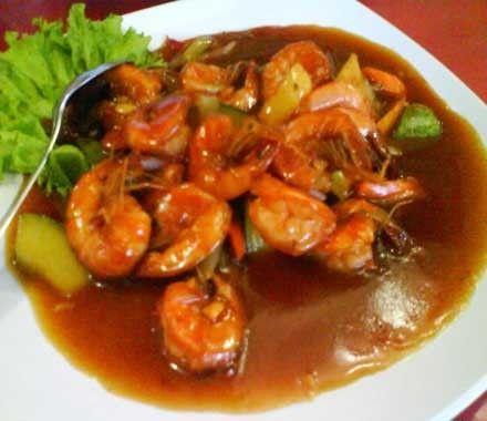 Kuliner Udang Asam Manis Khas Atlantic Seafood Pangandaran Resep Masakan Resep Udang Masakan