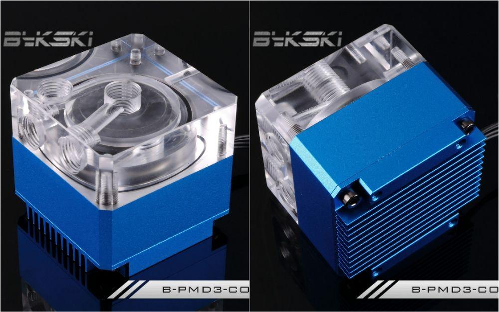 Bykski B Pmd3 Cov Water Cooling Pump With Heatsink 500l Ddc Blue