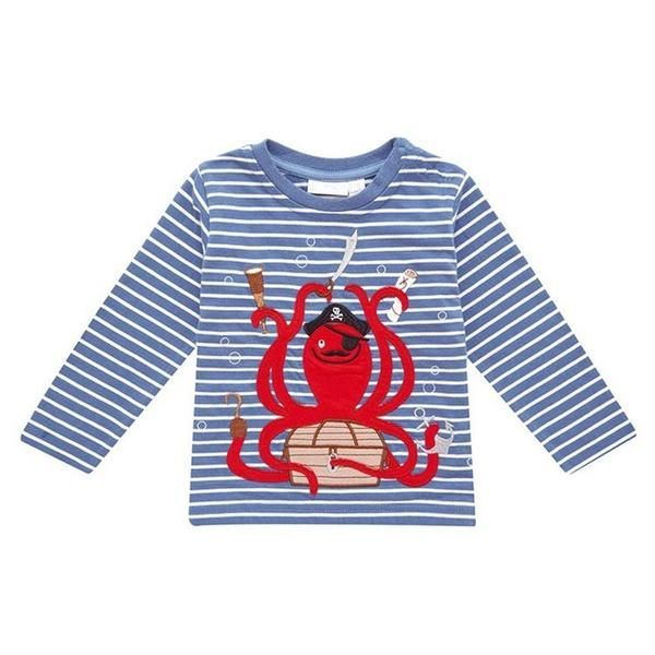 f406d186e Children T-shirt Boys Clothes Baby Boys Tops   Tees with Animal ...