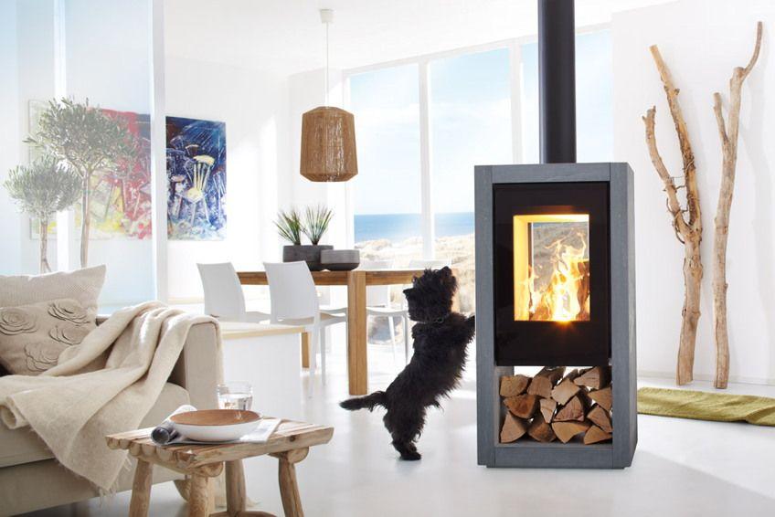 Kamin-Ofen SPARTHERM Ambiente a8 Standkamin Stahlkamin große - ofen für wohnzimmer