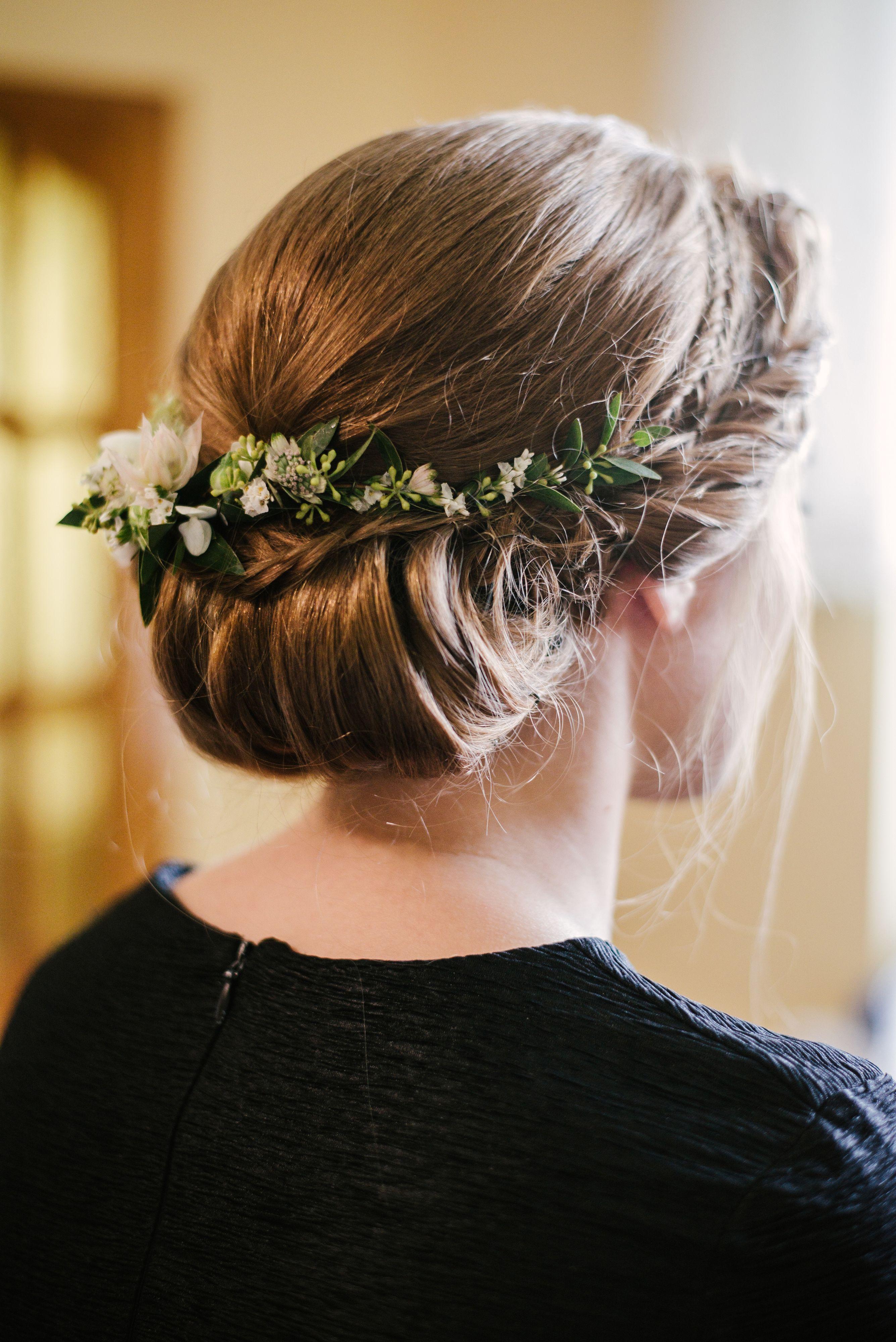 Inna Studio Greenery Pol Wianek Naturalna Panna Mloda Fot Tiamofoto Bridal Hair Hairstyle Bridal