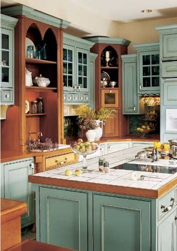 I want these cabinets image from BHG