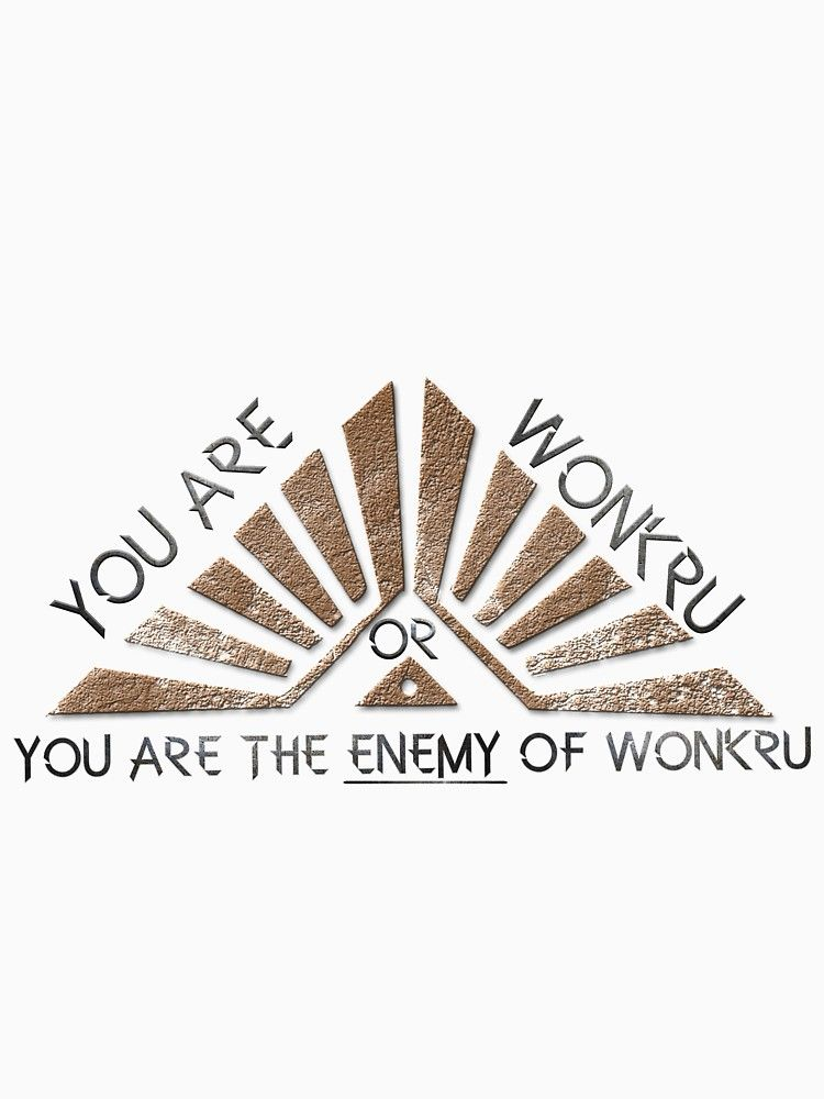ca70b1b2054f4 Wonkru or the enemy of wonkru | Fitted T-Shirt in 2019 | Wish List ...