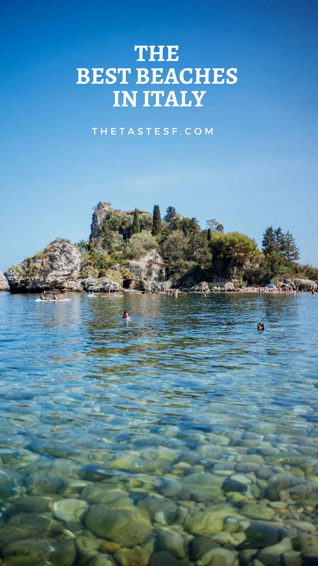 Beach Day at Isola Bella Italy honeymoon, Taormina