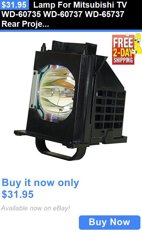 Rear-Projection TV Lamps: Lamp For Mitsubishi Tv Wd-60735 Wd