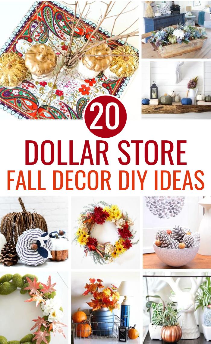 20 Dollar Tree Fall Decor Diy Ideas Love And Marriage Fall Decor Dollar Tree Fall Decor Diy Fall Decor