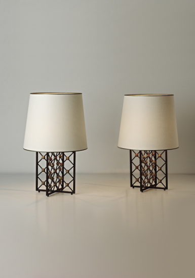 Phillips Ny050210 Jean Royere Pair Of Tour Eiffel Table Lamps Lamp Table Lamp Floor Lights