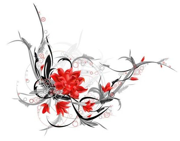 Lotus and dragon tattoo this is the fantastic tribal lotus very beautiful wallpaper - Tattoo tribal fleur ...