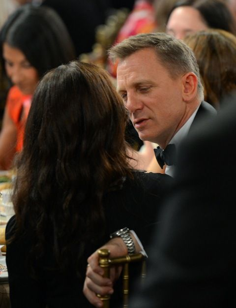 Daniel Craig and Rachel Weisz attend the 2012 BAFTA Los Angeles Britannia Awards