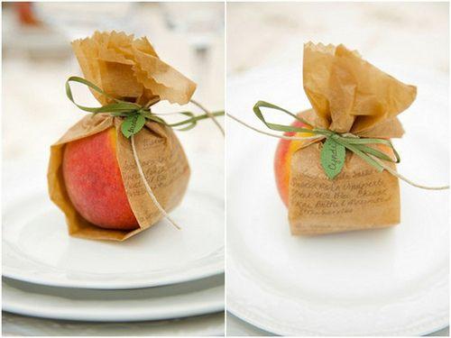 Georgia Peach Wedding Favor | Georgia is Peachy! | Fruit