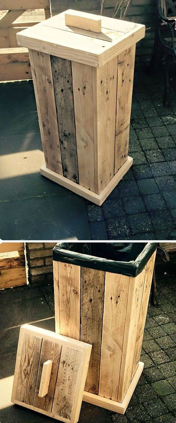 Ideas para reutilizar pallets Pallets, Woods and Pallet projects - ideas con palets