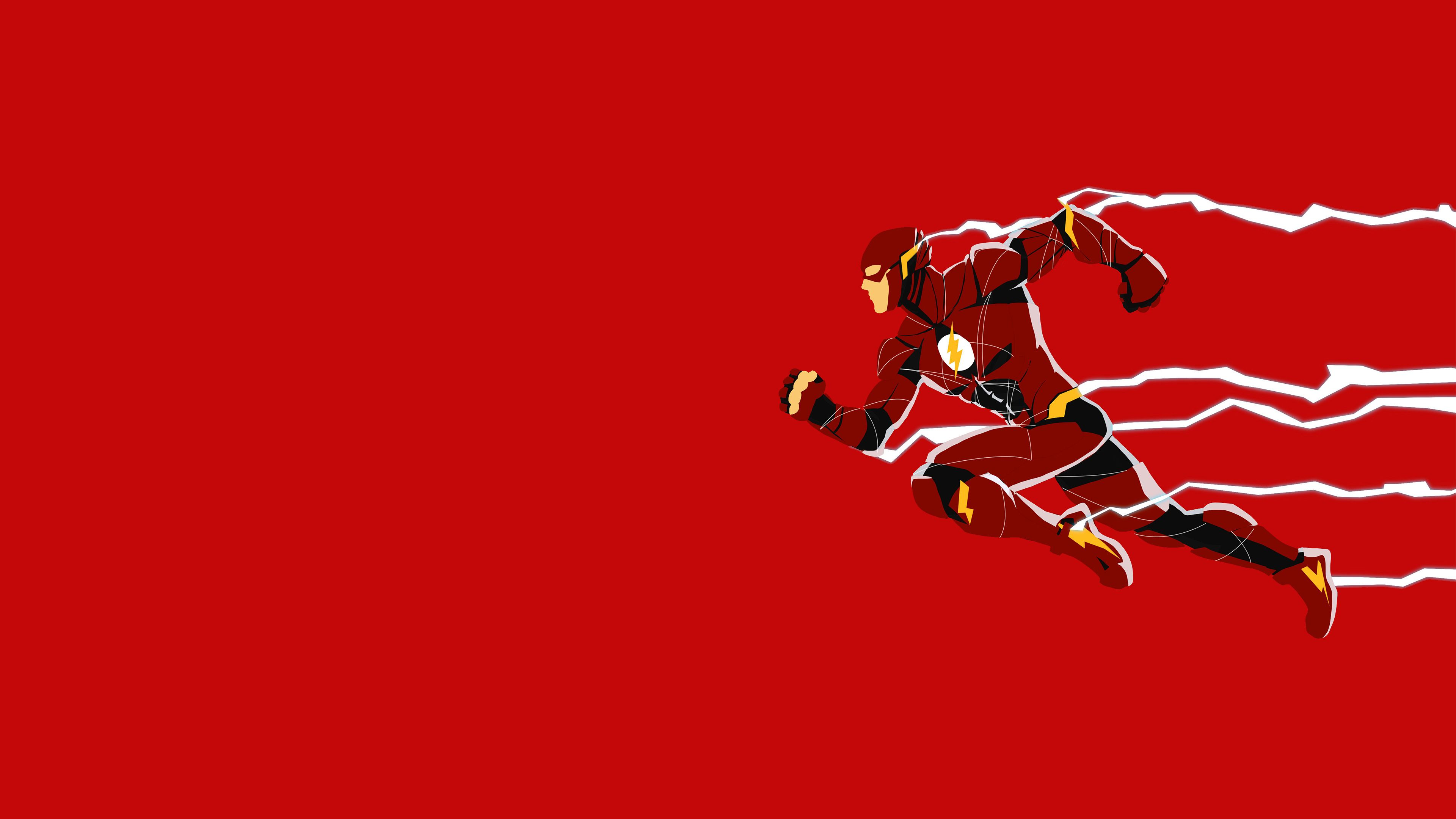 Justice League Flash Minimalism Superheroes Wallpapers Minimalism Wallpapers Justice League Wallpapers Hd Flash Wallpaper Art Wallpaper Justice League Flash