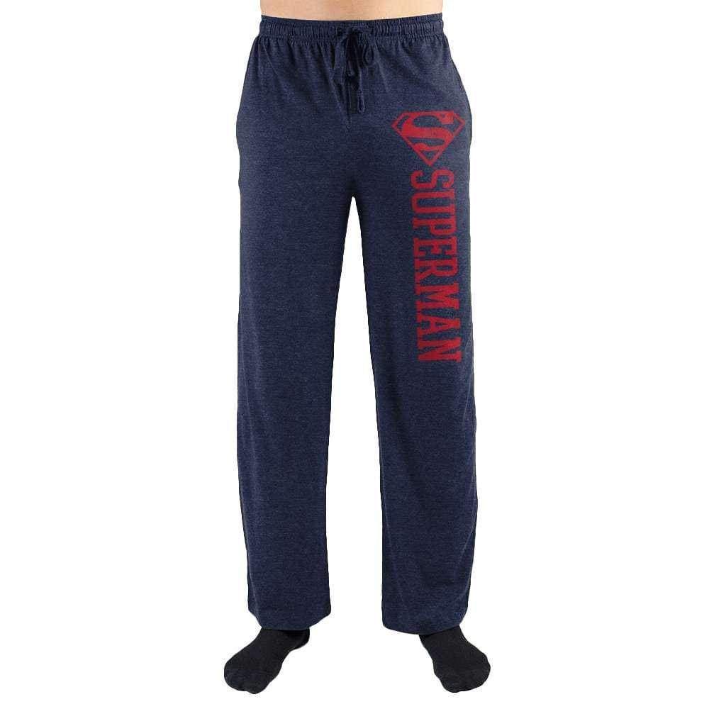 American Superman Man Of Steel Symbol Print Mens Loungewear Lounge Pants