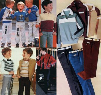 1984 Boys Clothes Late 1970s 1980s Clothing For The New