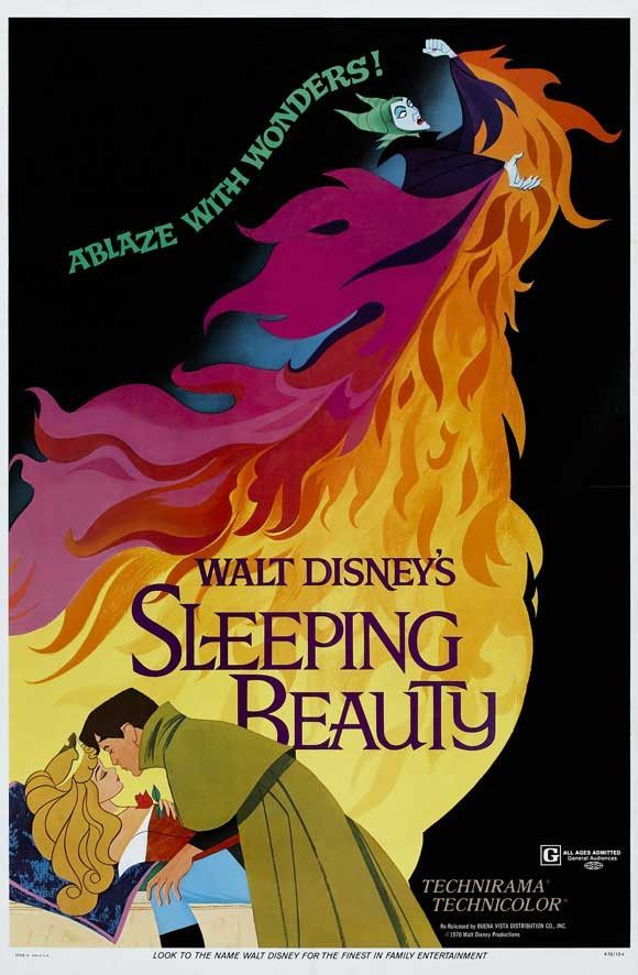 Sleeping Beauty 11x17 Movie Poster 1959 Carteles De Peliculas