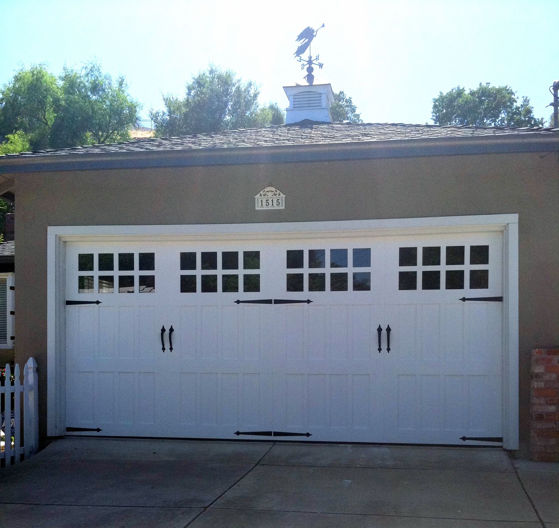 Carriage Garage Door Love This When We Enclose The Carport House Exterior Exterior Decor Garage Doors