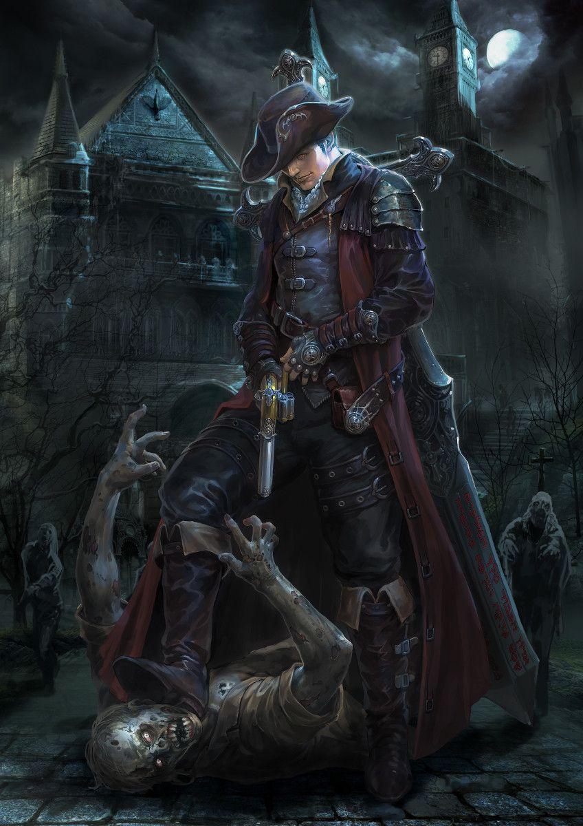 Vampire Hunter Fantasy Art