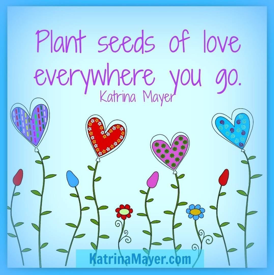 Quotes About Planting Seeds For Life The Seeds Of Love  Family  Pinterest  Consciousness Spiritual