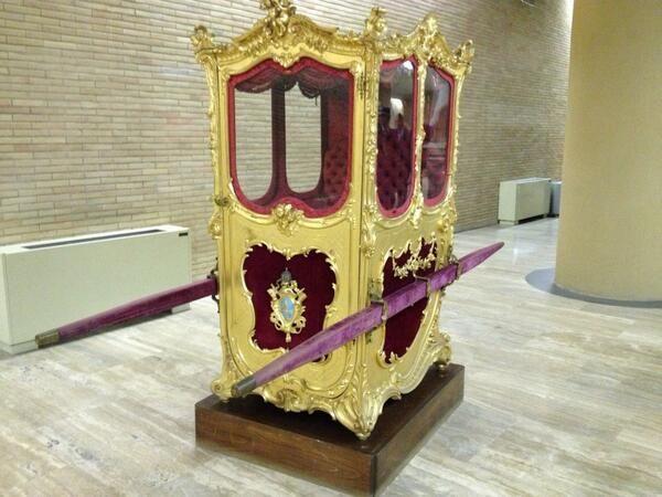 Otra época... Museo de las Carrozas #Vaticano