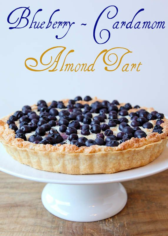 Blueberry-Cardamom Almond Tart by Better Recipes ...