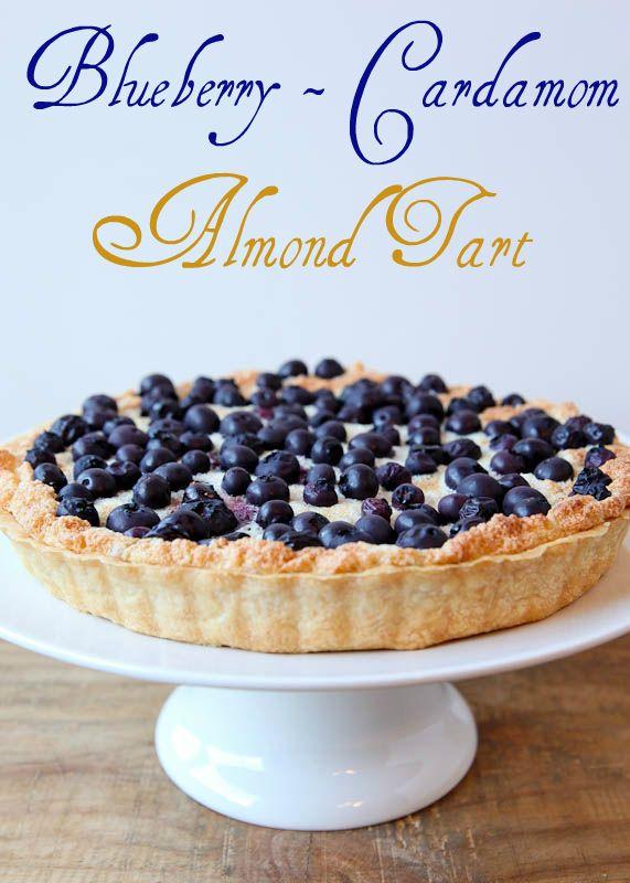 Blueberry-Cardamom Almond Tart by Better Recipes ...
