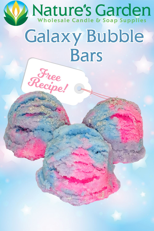 Photo of Galaxy Bubble Bar Recipe