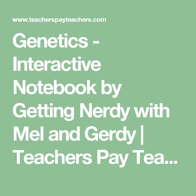 Genetics - Interactive Notebook