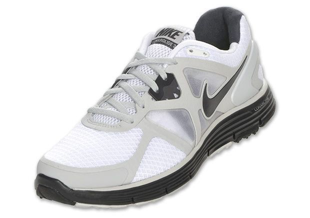 52b5d19f2582 Nike LunarGlide 3+ White Anthracite 454164-107  100