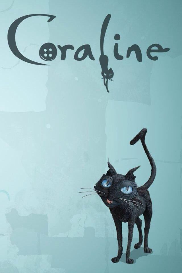 The L Cat As A Tattoo Coraline Cat Coraline Coraline Aesthetic