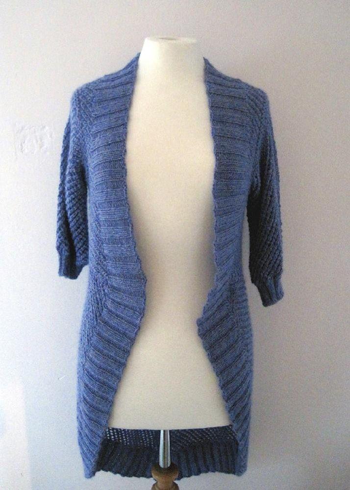 Circular Shawl Cardigan Knitting pattern by Fiona Morris ...