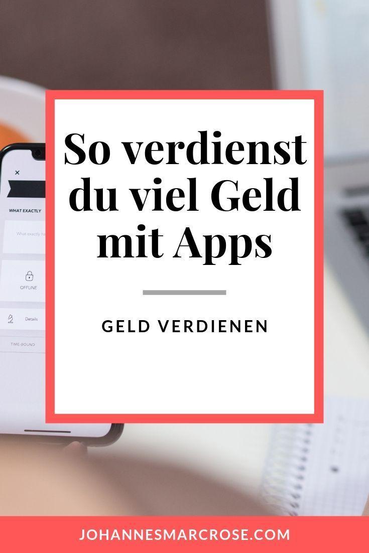 Mit Apps Geld verdienen - So verdienst du mit deinem ...