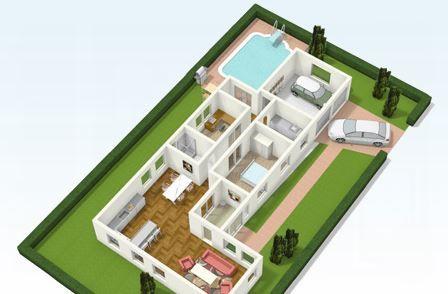 Programa para hacer fachadas de casas online dise o for Diseno de casas online