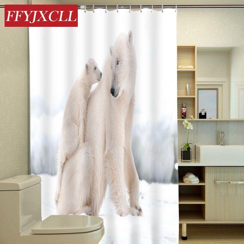 Polar Bear Tiger Lion Swan Animal Printing Design Waterproof