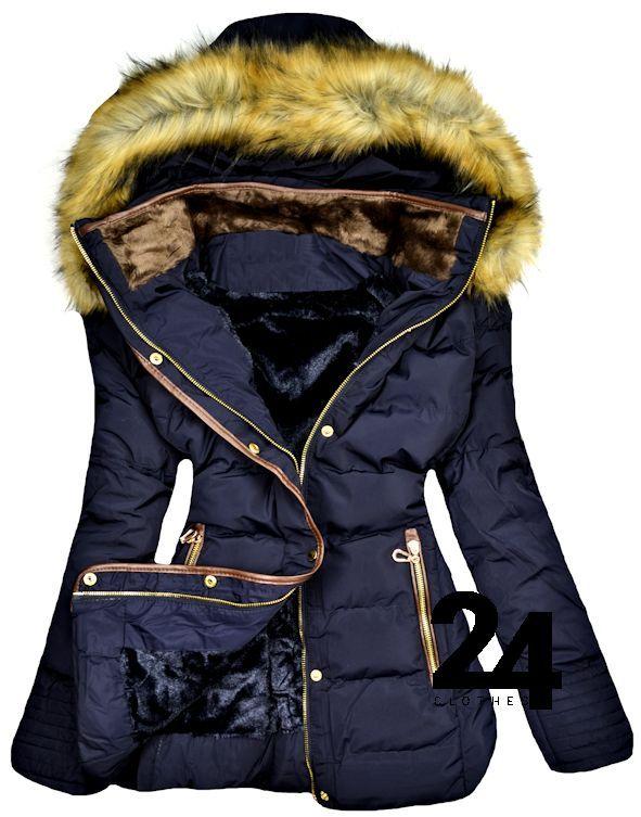 Xxl Nappairi Zimowa Kurtka Plaszcz Mis Nowosc Nb 5901994017 Oficjalne Archiwum Allegro Winter Jackets Fashion Jackets