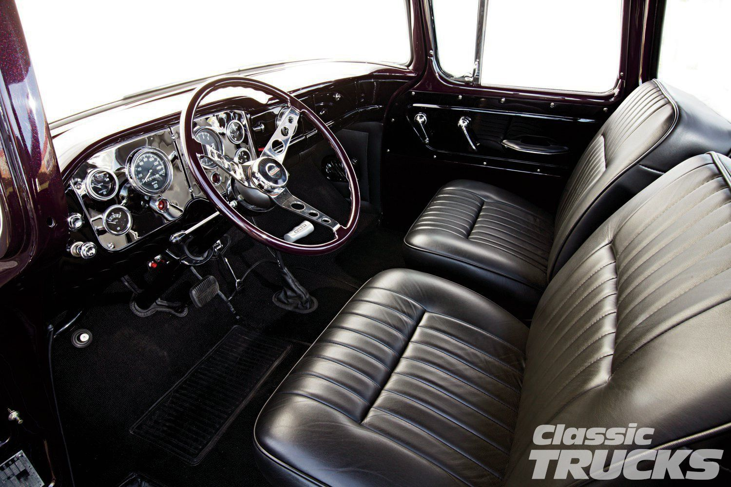 1955 Gmc Pickup 1955 Gmc 100 Truck Interior With Images