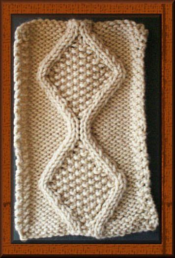 Trace Cable Stitch Pattern Knitting Pinterest Beautiful Cable