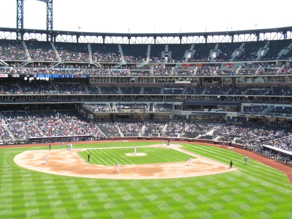 Citi Field diamond, New York Mets Baseball park