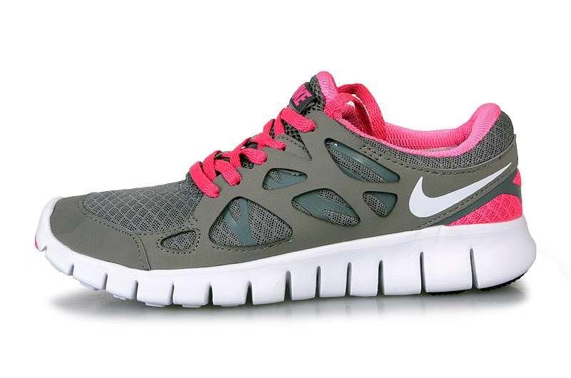 designer fashion 13fb4 b5425 Nike Free Run+2 Women Gray Rose | Nike Free Mercurial Superfly On ...