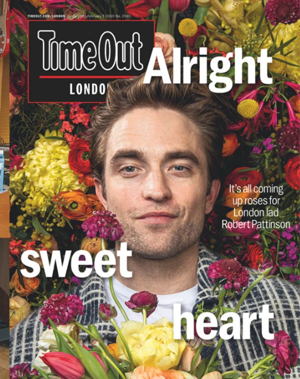 Time Out London Magazine Jan 2020 Robert Pattinson in
